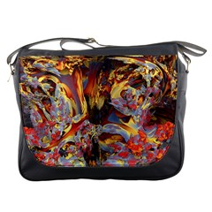Abstract 4 Messenger Bag by icarusismartdesigns