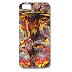 Abstract 4 Apple Seamless Iphone 5 Case (clear) by icarusismartdesigns