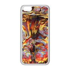 Abstract 4 Apple Iphone 5c Seamless Case (white) by icarusismartdesigns