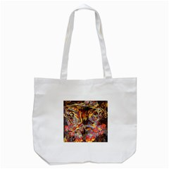 Abstract 4 Tote Bag (white) by icarusismartdesigns