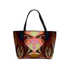 Cat Woman Large Shoulder Bag by icarusismartdesigns