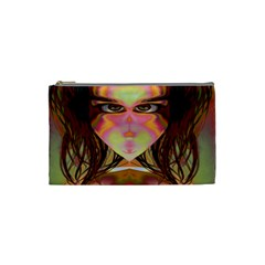 Cat Woman Cosmetic Bag (small) by icarusismartdesigns