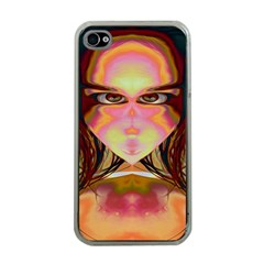 Cat Woman Apple Iphone 4 Case (clear) by icarusismartdesigns