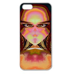 Cat Woman Apple Seamless Iphone 5 Case (clear) by icarusismartdesigns