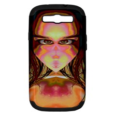 Cat Woman Samsung Galaxy S Iii Hardshell Case (pc+silicone) by icarusismartdesigns