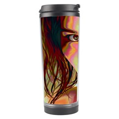 Cat Woman Travel Tumbler by icarusismartdesigns