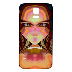 Cat Woman Samsung Galaxy S5 Back Case (white) by icarusismartdesigns