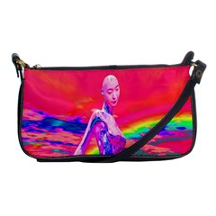 Cyborg Mask Evening Bag by icarusismartdesigns