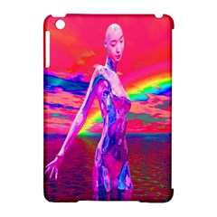 Cyborg Mask Apple Ipad Mini Hardshell Case (compatible With Smart Cover) by icarusismartdesigns