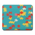 Puzzle Pieces Large Mouse Pad (Rectangle) Front