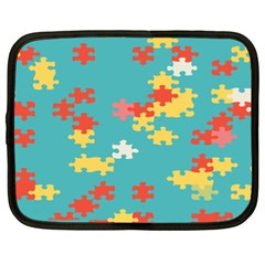 Puzzle Pieces Netbook Sleeve (xxl)