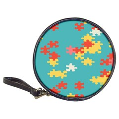Puzzle Pieces Cd Wallet by LalyLauraFLM