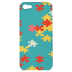 Puzzle Pieces Apple Iphone 5 Hardshell Case