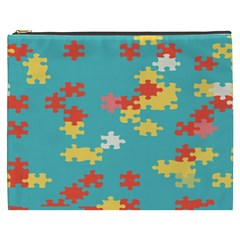 Puzzle Pieces Cosmetic Bag (xxxl)