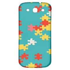 Puzzle Pieces Samsung Galaxy S3 S Iii Classic Hardshell Back Case