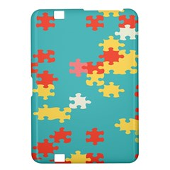 Puzzle Pieces Kindle Fire Hd 8 9  Hardshell Case by LalyLauraFLM