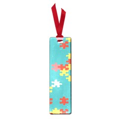 Puzzle Pieces Small Bookmark by LalyLauraFLM