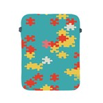 Puzzle Pieces Apple iPad Protective Sleeve Front