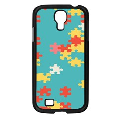 Puzzle Pieces Samsung Galaxy S4 I9500/ I9505 Case (black)