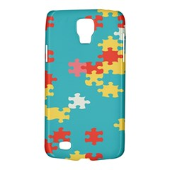 Puzzle Pieces Samsung Galaxy S4 Active (i9295) Hardshell Case by LalyLauraFLM