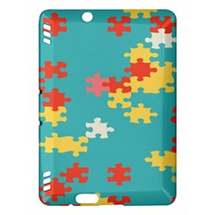 Puzzle Pieces Kindle Fire Hdx Hardshell Case