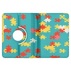 Puzzle Pieces Kindle Fire Hdx Flip 360 Case by LalyLauraFLM