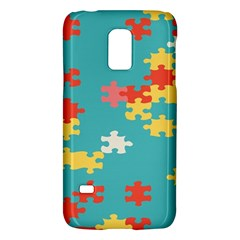 Puzzle Pieces Samsung Galaxy S5 Mini Hardshell Case  by LalyLauraFLM
