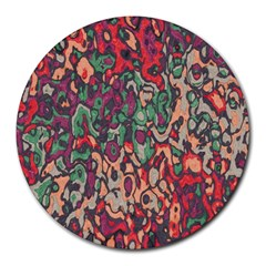 Color Mix Round Mousepad