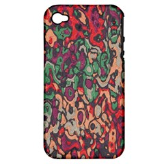 Color Mix Apple Iphone 4/4s Hardshell Case (pc+silicone)