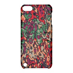 Color Mix Apple Ipod Touch 5 Hardshell Case With Stand