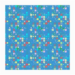 Colorful Squares Pattern Glasses Cloth (medium)