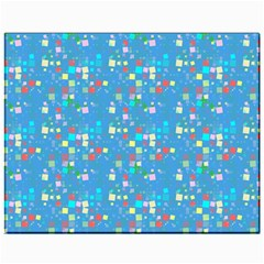 Colorful Squares Pattern Canvas 11  X 14