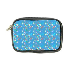 Colorful Squares Pattern Coin Purse by LalyLauraFLM