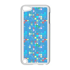 Colorful Squares Pattern Apple Ipod Touch 5 Case (white)
