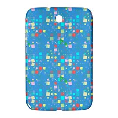 Colorful Squares Pattern Samsung Galaxy Note 8 0 N5100 Hardshell Case  by LalyLauraFLM