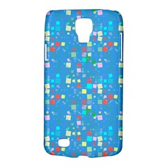 Colorful Squares Pattern Samsung Galaxy S4 Active (i9295) Hardshell Case