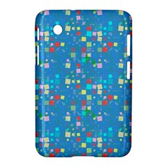 Colorful Squares Pattern Samsung Galaxy Tab 2 (7 ) P3100 Hardshell Case