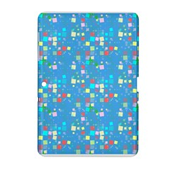 Colorful Squares Pattern Samsung Galaxy Tab 2 (10 1 ) P5100 Hardshell Case  by LalyLauraFLM
