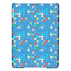 Colorful Squares Pattern Apple Ipad Air Hardshell Case by LalyLauraFLM