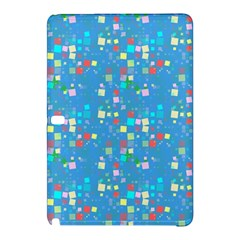 Colorful Squares Pattern Samsung Galaxy Tab Pro 10 1 Hardshell Case by LalyLauraFLM