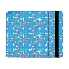 Colorful Squares Pattern Samsung Galaxy Tab Pro 8 4  Flip Case by LalyLauraFLM