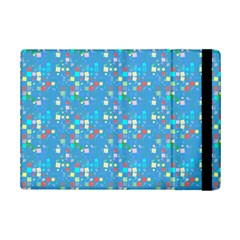 Colorful Squares Pattern Apple Ipad Mini 2 Flip Case by LalyLauraFLM