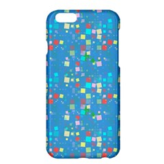 Colorful Squares Pattern Apple Iphone 6 Plus Hardshell Case
