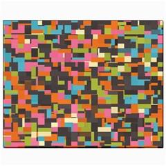 Colorful Pixels Canvas 8  X 10  by LalyLauraFLM