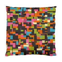 Colorful Pixels Cushion Case (two Sides)