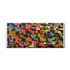 Colorful Pixels Hand Towel