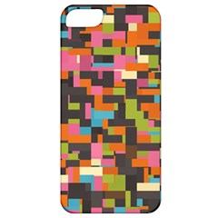 Colorful Pixels Apple Iphone 5 Classic Hardshell Case by LalyLauraFLM