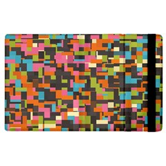 Colorful Pixels Apple Ipad 3/4 Flip Case by LalyLauraFLM