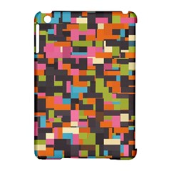 Colorful Pixels Apple Ipad Mini Hardshell Case (compatible With Smart Cover) by LalyLauraFLM