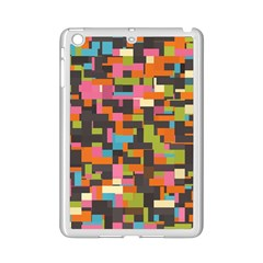 Colorful Pixels Apple Ipad Mini 2 Case (white)